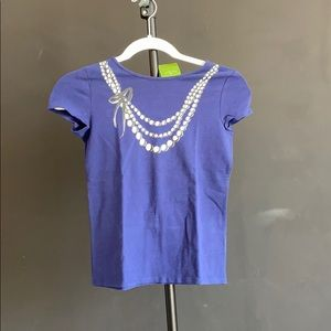 A blue shirt from Kate Spade